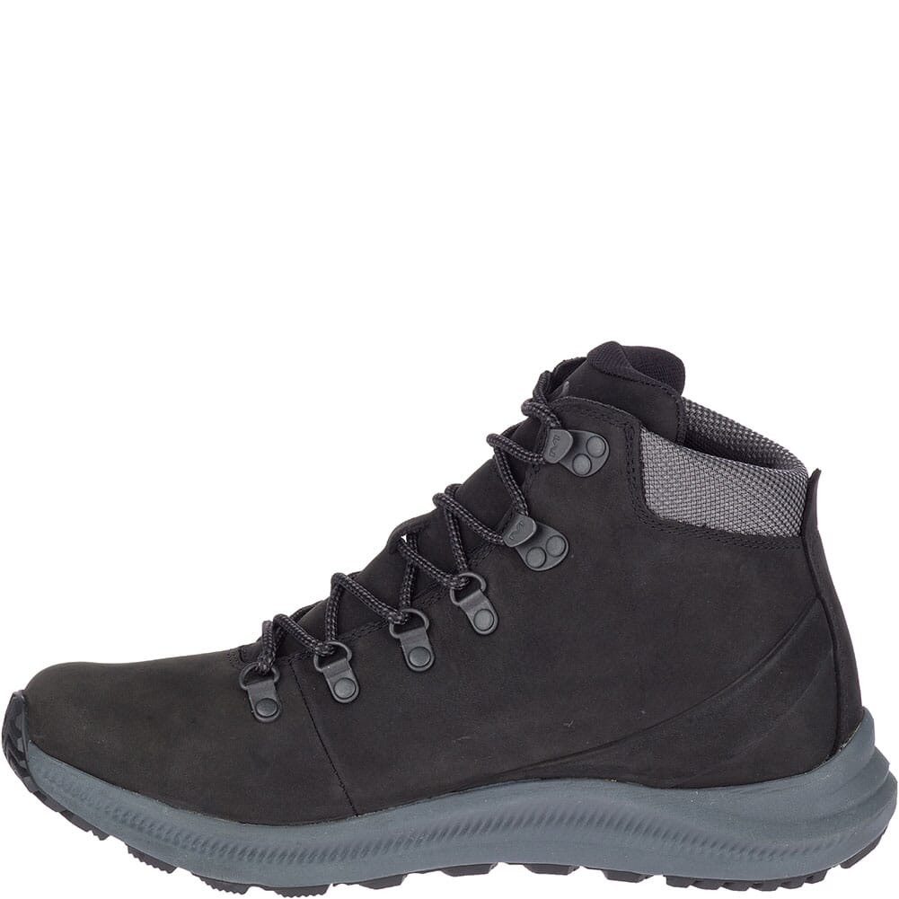 Merrell Men's Ontario Mid WP Hiking Boots - Black