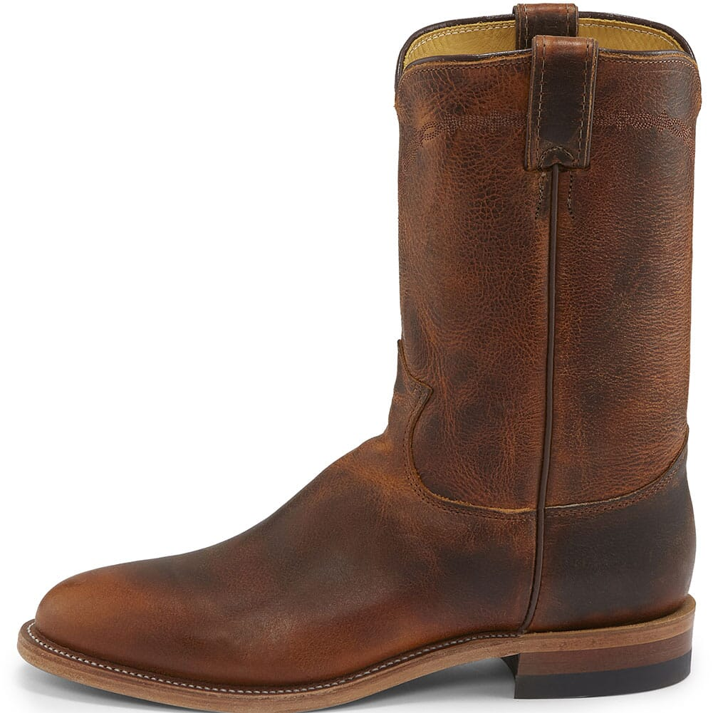 Justin Men's Brock Western Ropers - Butterscotch