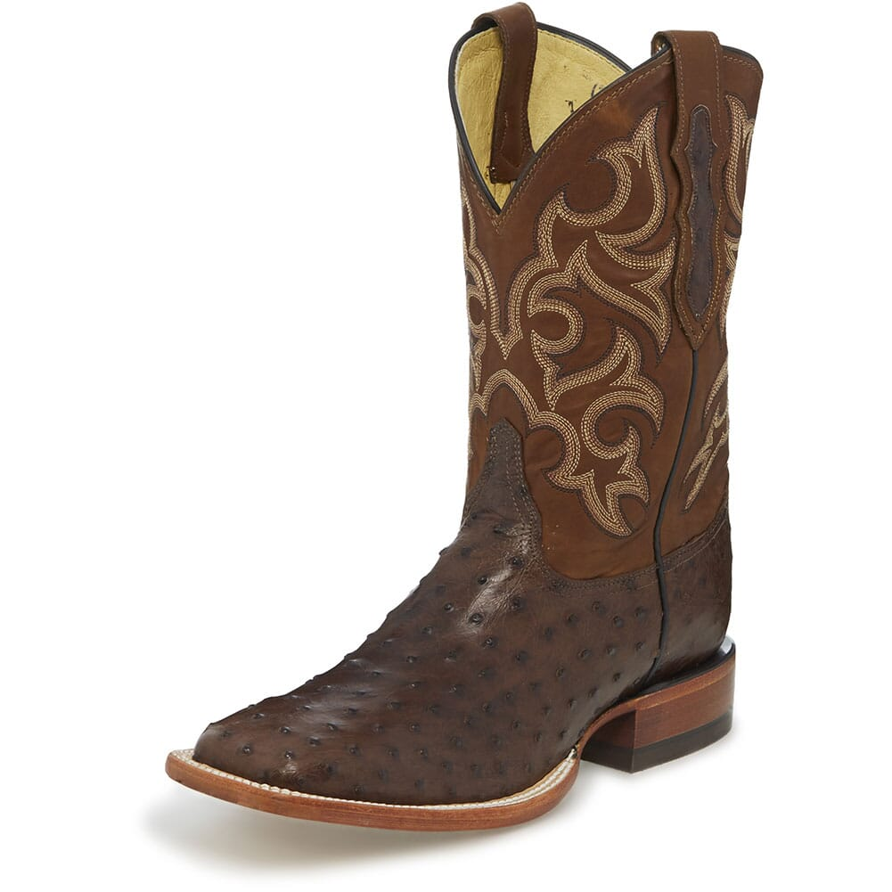 Justin Men's Truman Western Boots - Brown