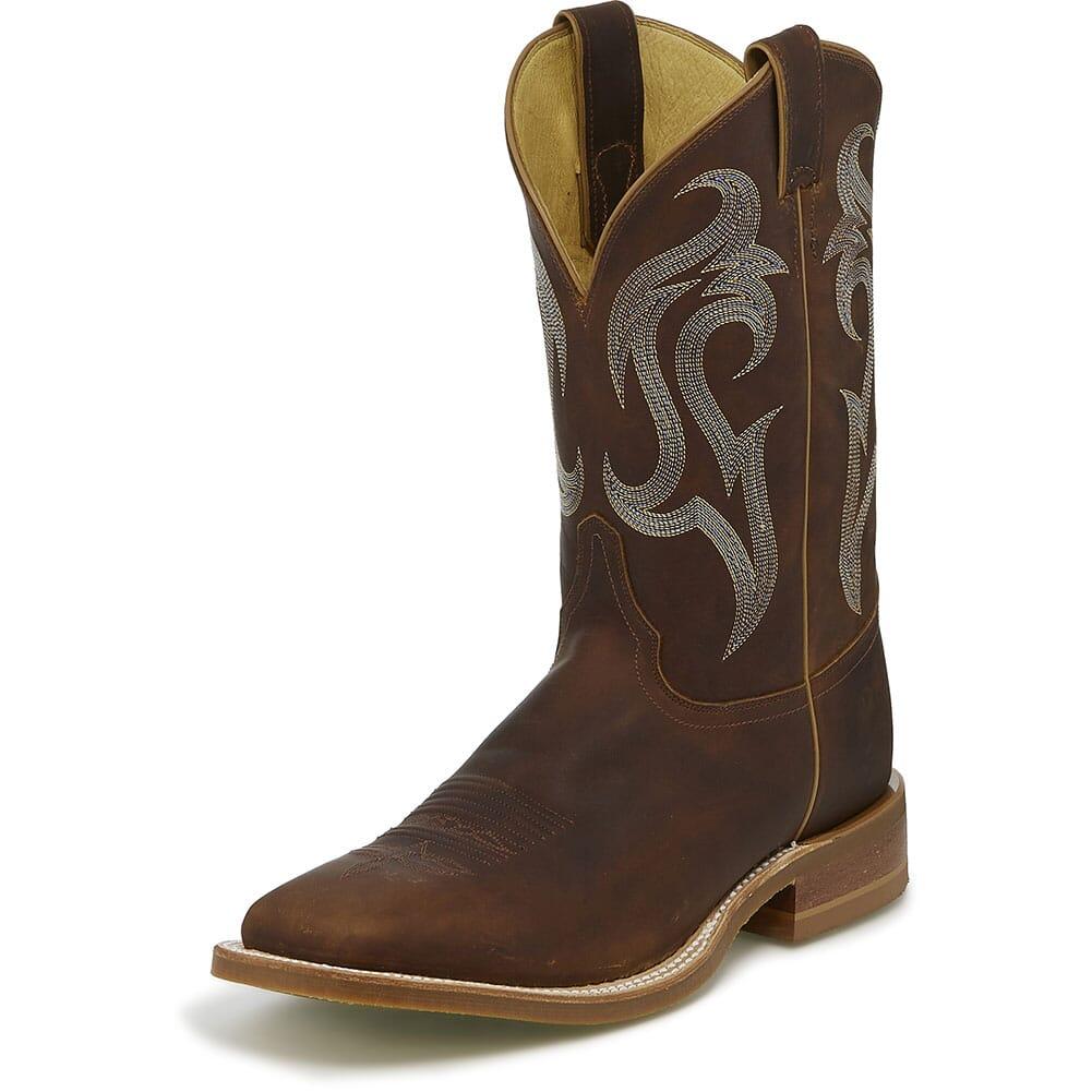 Justin Men's Bender Western Boots - Brown