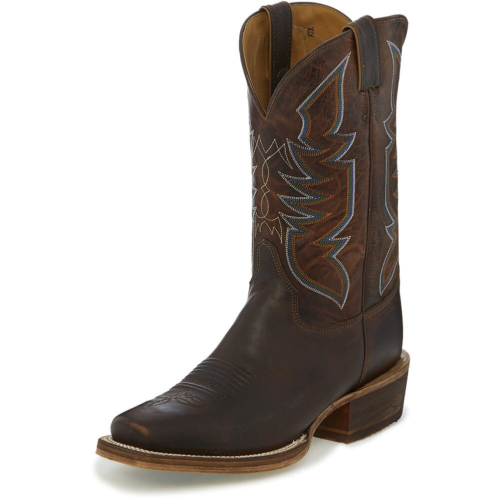 Justin Men's Navigator Western Boots - Stone Age