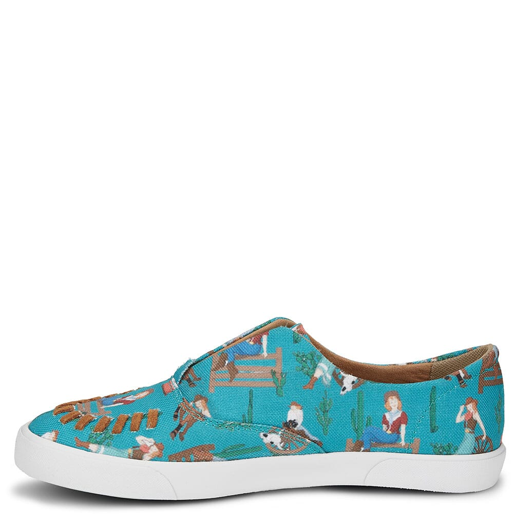 RML065 Justin Women's Alice Casual Sneakers - Turquoise