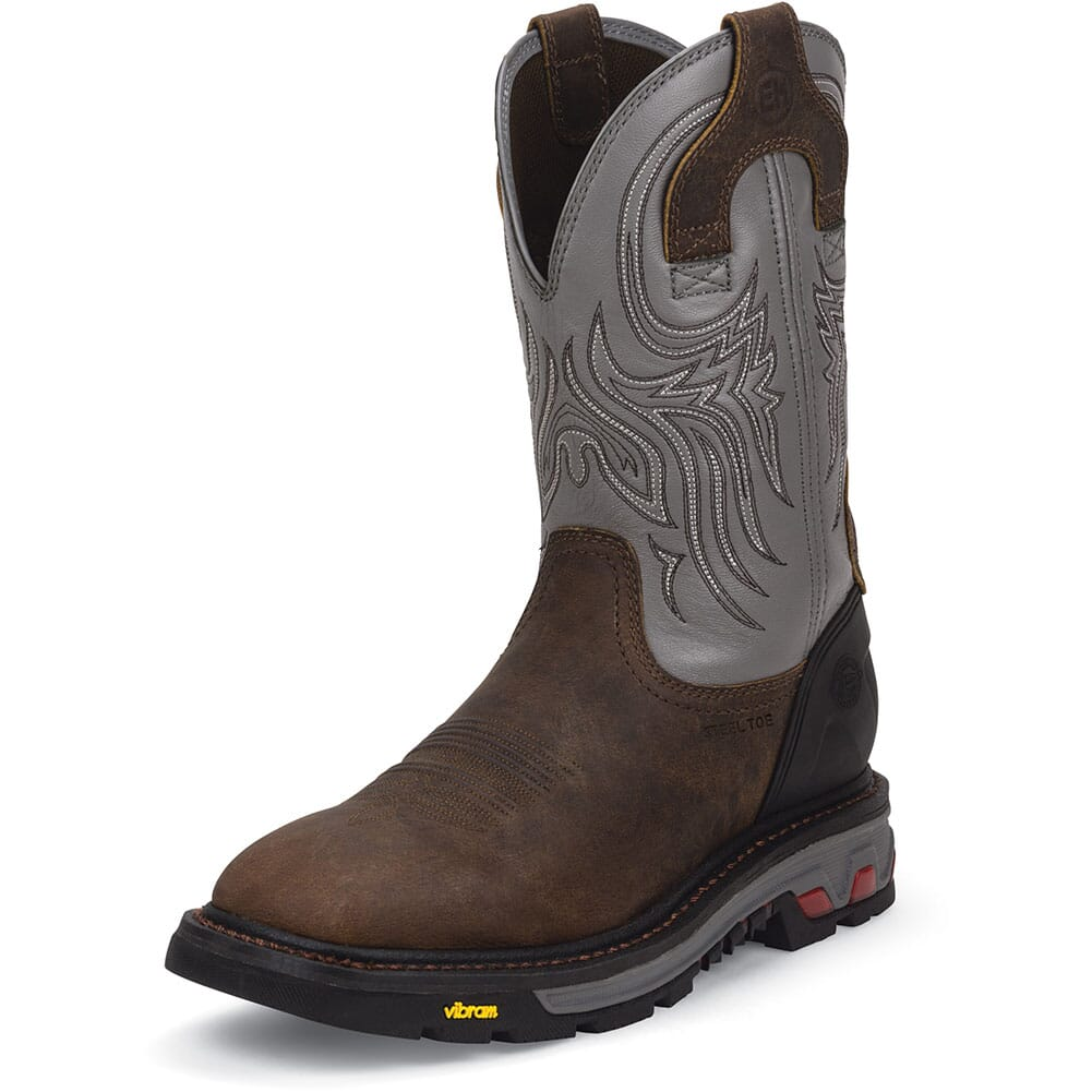 Justin Men's Commander-X5 Safety Boots - Timber