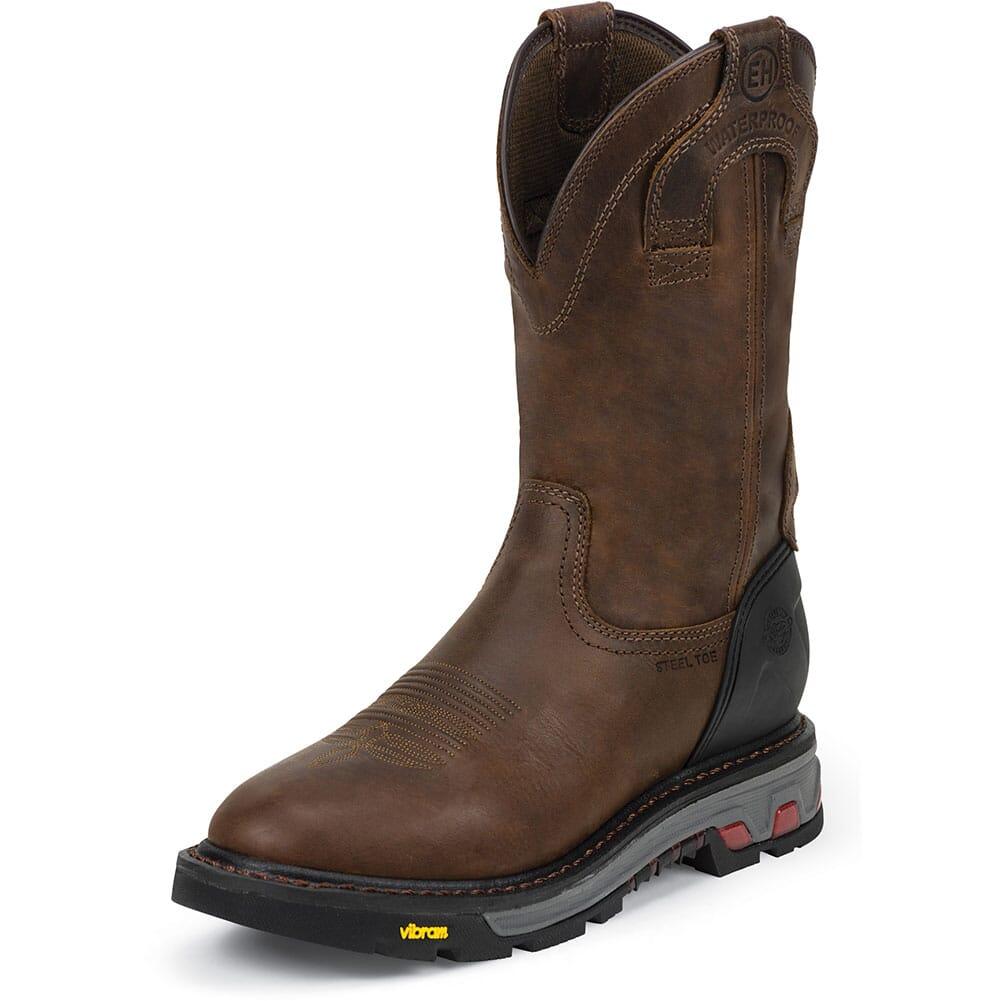 Justin Original Men's Mechanic Safety Boots -  Brown
