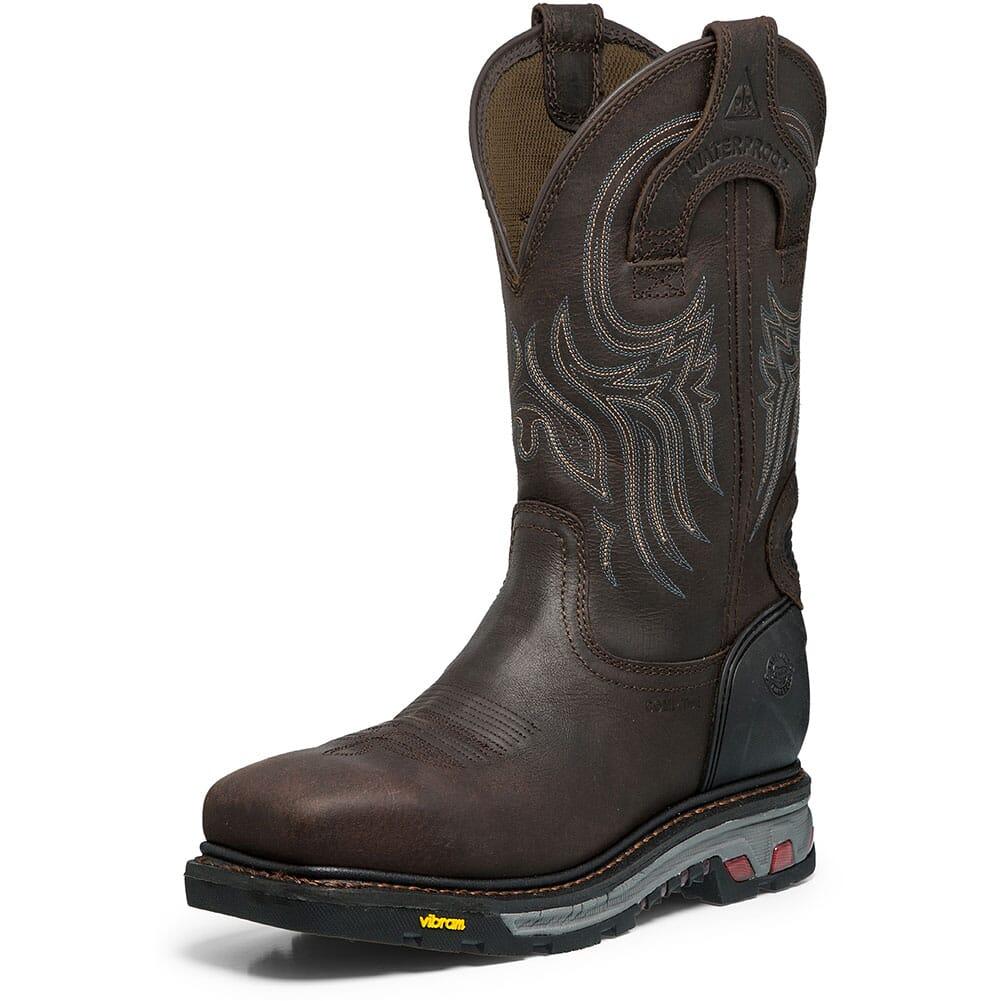 Justin Original Men's Warhawk WP Safety Boots - Gibraltar