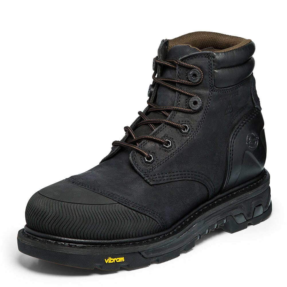 Justin Original Men's Warhawk WP Safety Boots - Black