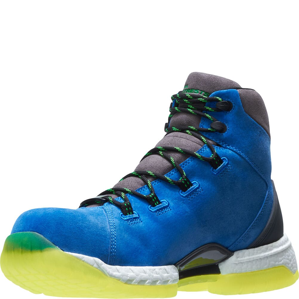 Footrests by Hytest Men's 2.0 Xergy WP Safety Boots - Blue