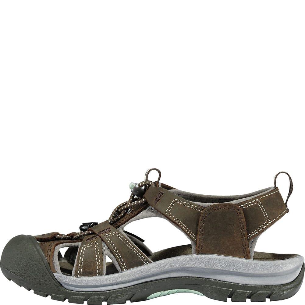 1003989 KEEN Women's Venice Sandals - Black Olive/Surf Spray