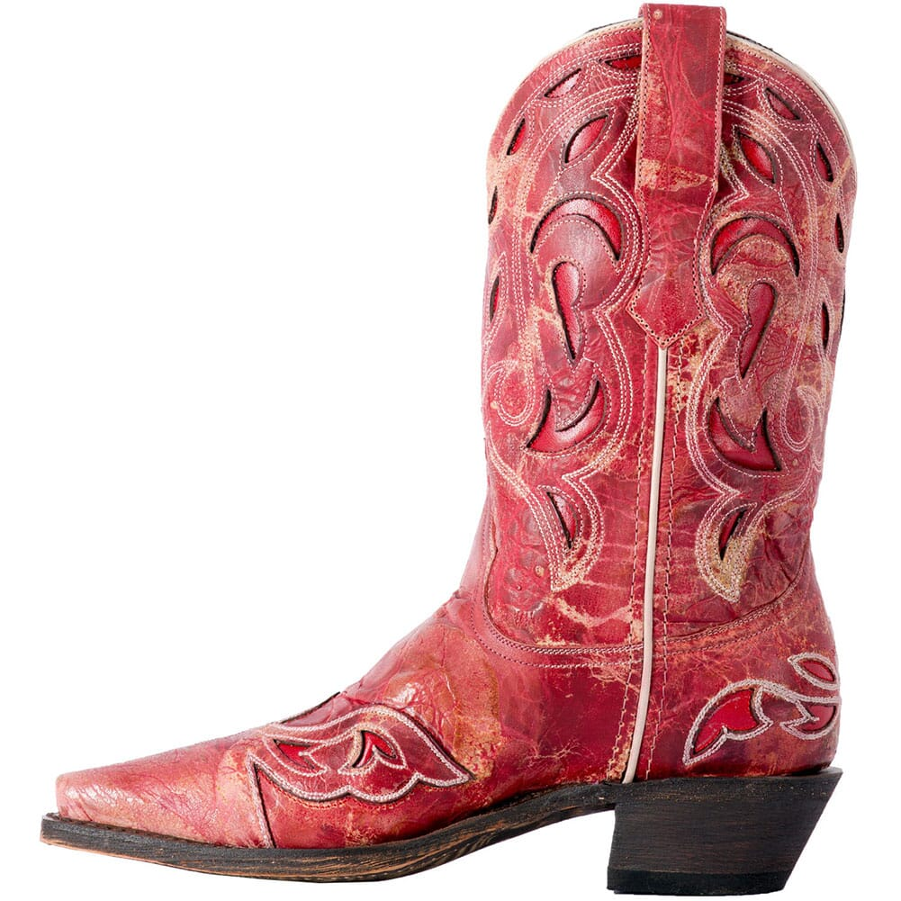 Laredo Women's No More Drama Western Boots - Red