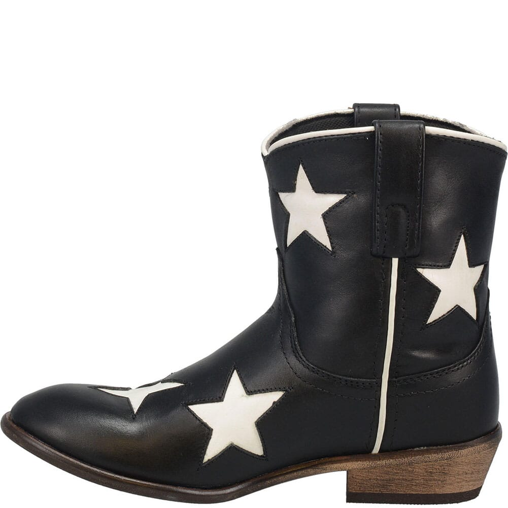 51015 Laredo Women's Star Girl Western Boots - Black