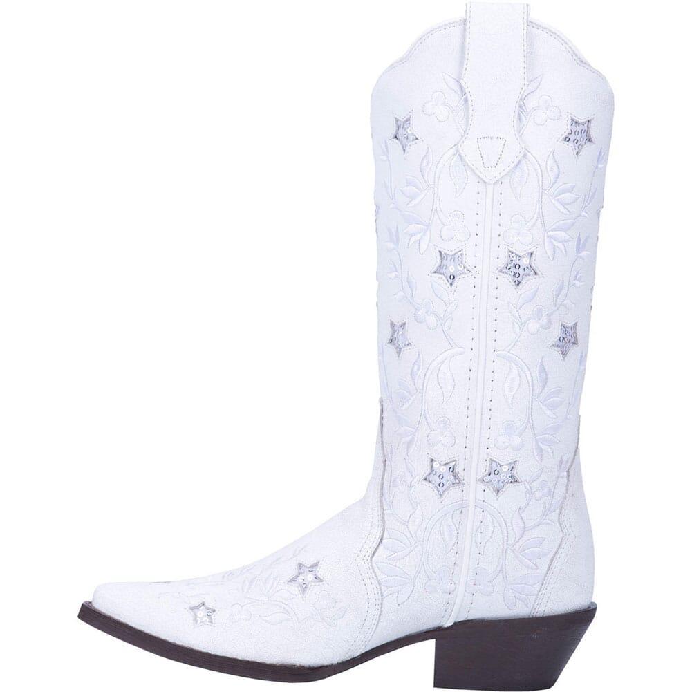 52111 Laredo Women's Lucky Star Western Boots - White