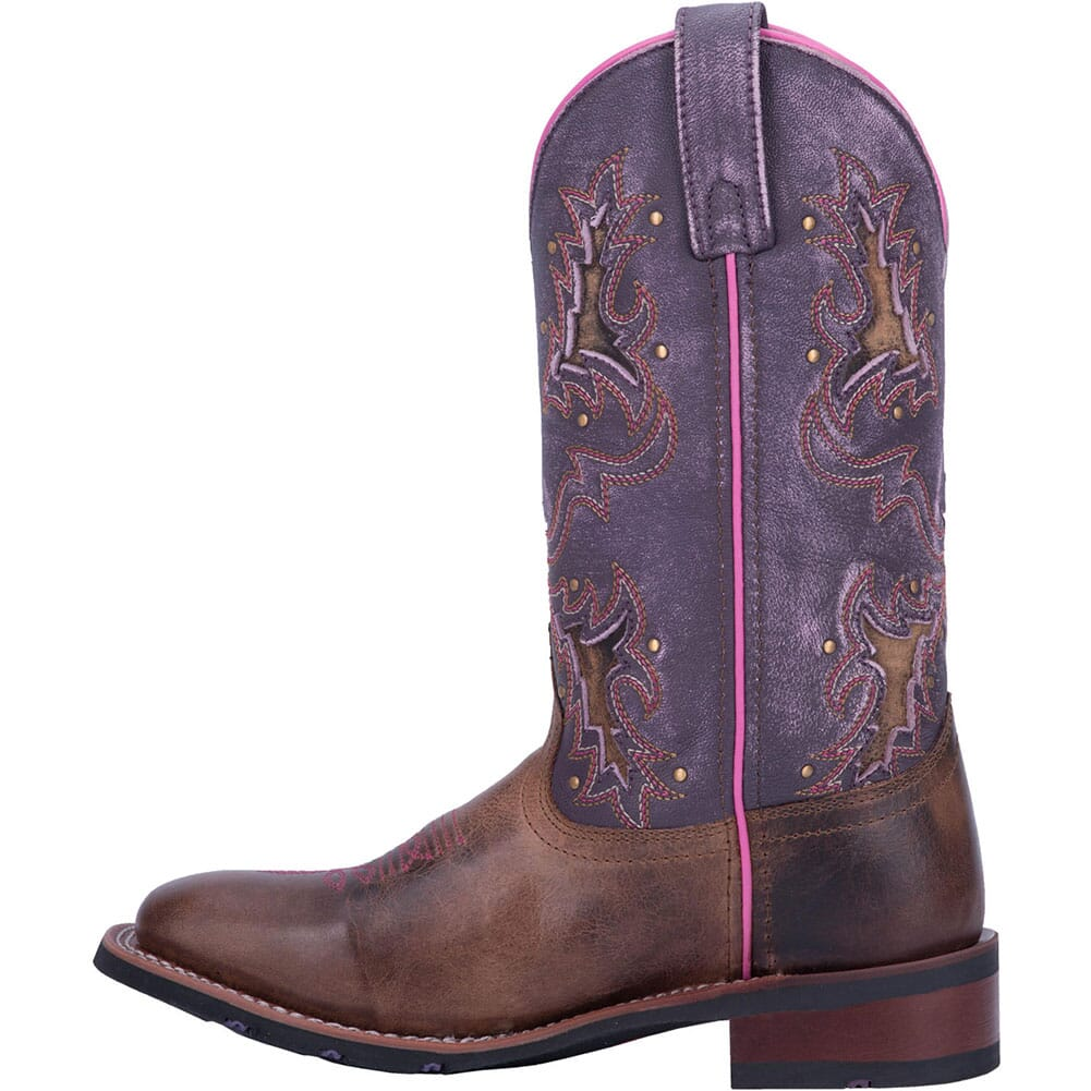 Laredo Women's Lola Western Boots - Tan/Purple