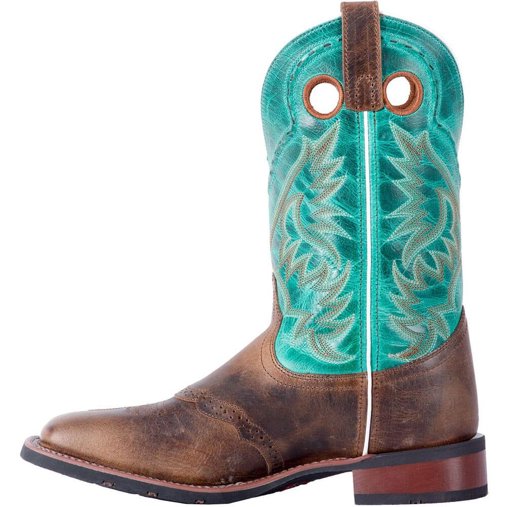 Laredo Men's Ward Western Boots - Tan/Turquoise