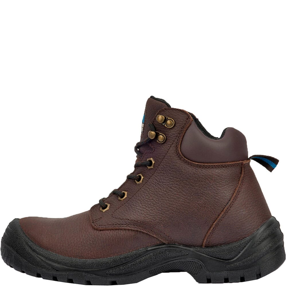McRae Men's Girder Lace Up Safety Boots - Brown