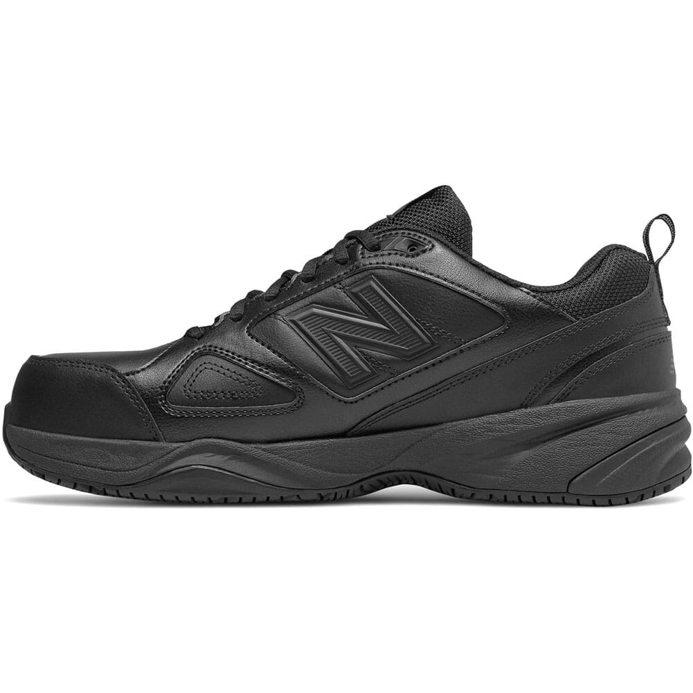 New Balance Men's Leather Safety Shoes - Black
