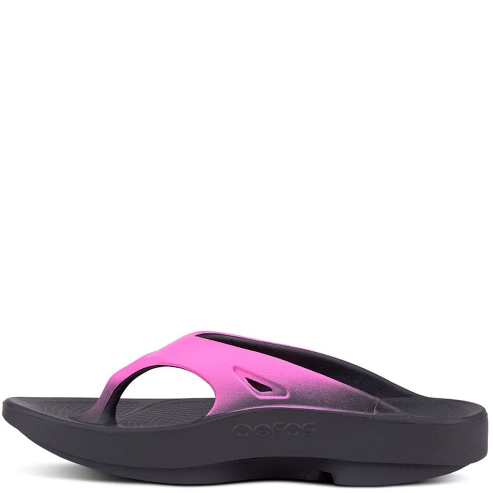 1001-BLKPINK OOFOS Unisex OOriginal Sport Sandals - Black/Pink