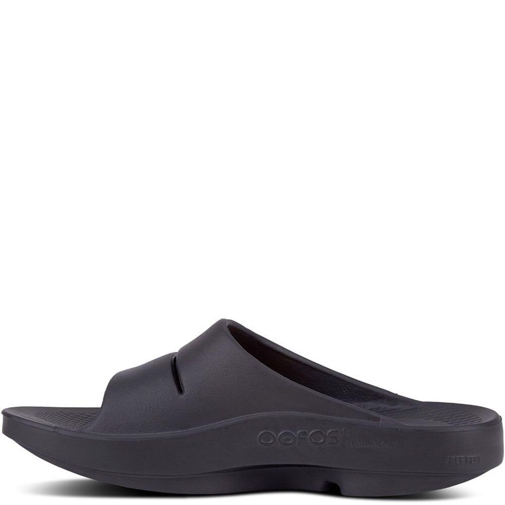 OOFOS Unisex OOAHH Slides - Black