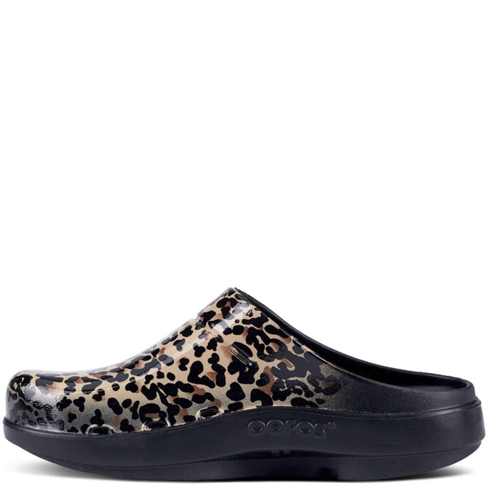 1203-LEO Women's Oocloog Limited Casual Clogs - Leopard