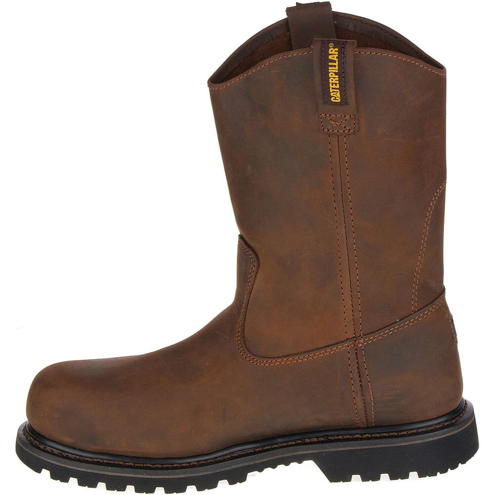 Caterpillar Men's Edgework SD Safety Boots - Mahogany