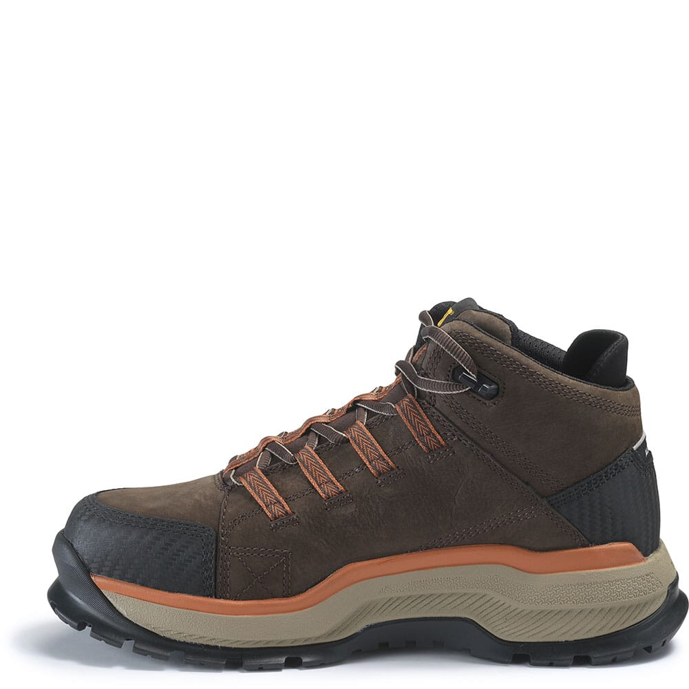 Caterpillar Men's Utilize WP Safety Boots - Dark Bitter Chocolate