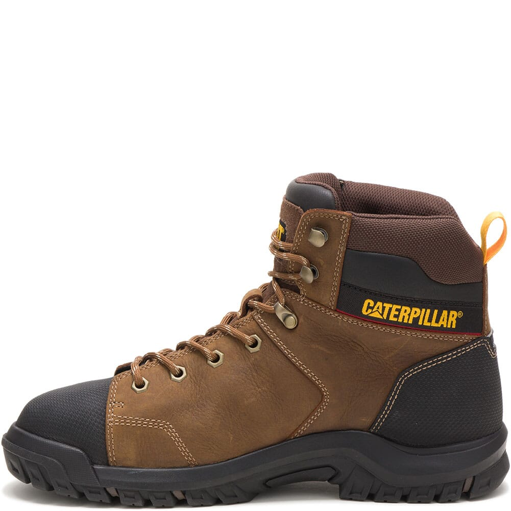 91115 Caterpillar Men's Wellspring WP Met Guard Safety Boots - Red Brown