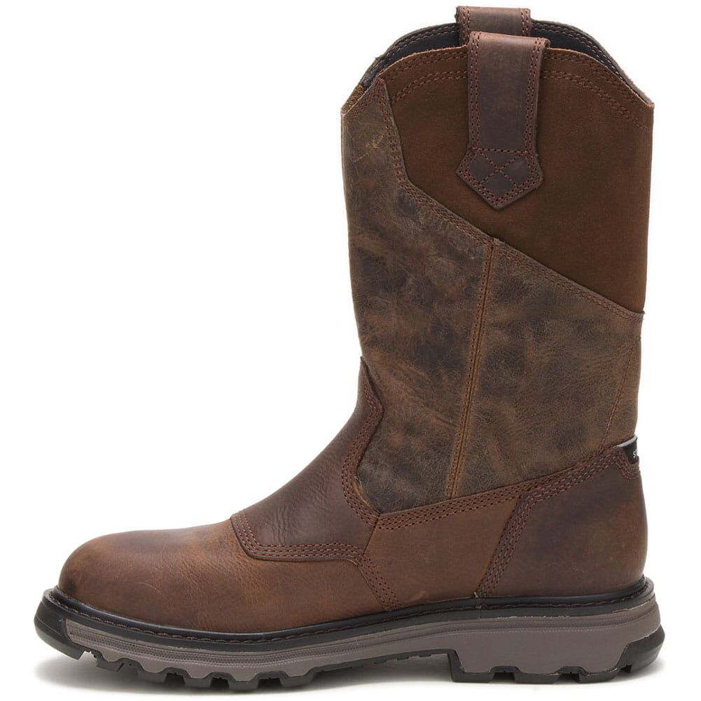 91118 Caterpillar Men's Leeward Steel Toe Safety Boots - Classic Brown