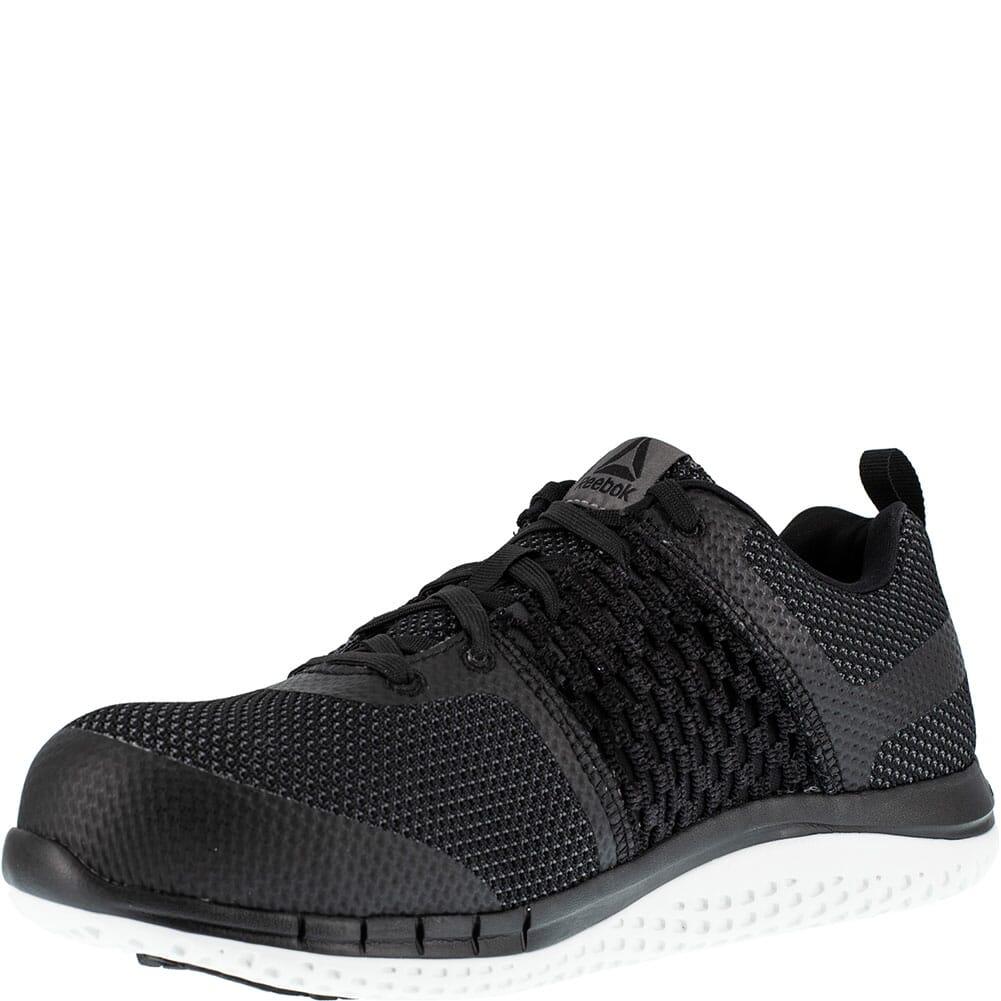 Reebok Women's Print Ultraknit Safety Shoes - Black/White