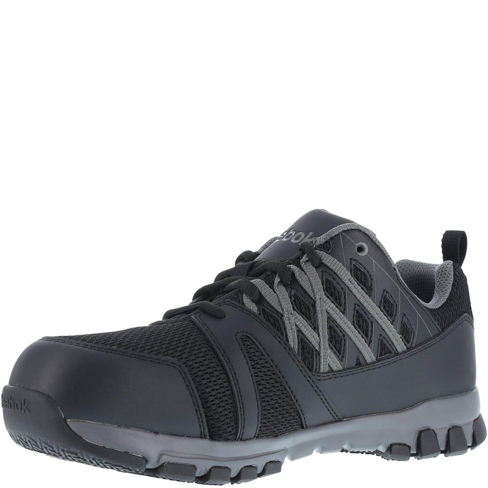 Reebok Men's Sublite Work Shoes - Black
