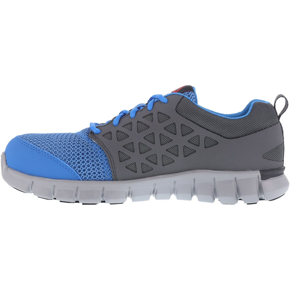 Reebok Men's Sublite Safety Shoes - Blue/Grey