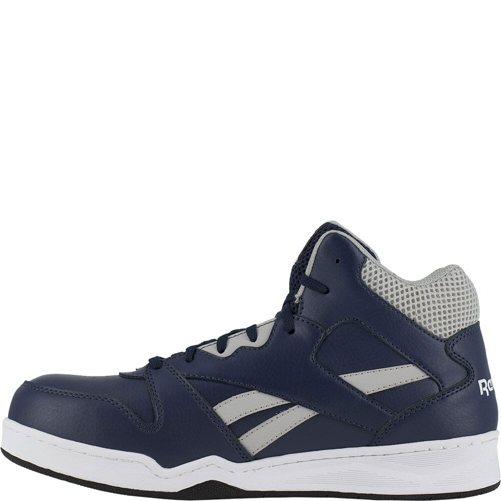 RB4133 Reebok Men's BB4500 SD Hi Cut Safety Boots - Navy/Grey