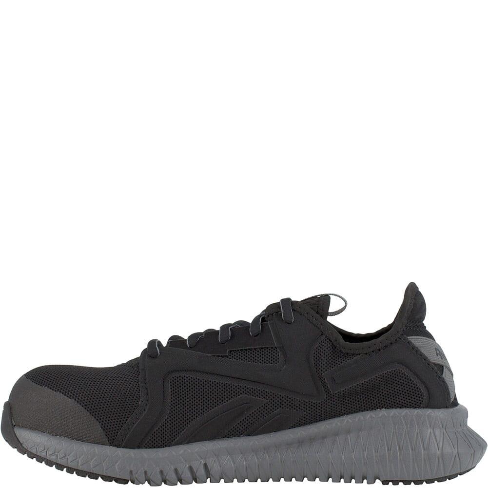 RB464 Reebok Women's Flexagon 3.0 Safety Shoes - Black/Grey