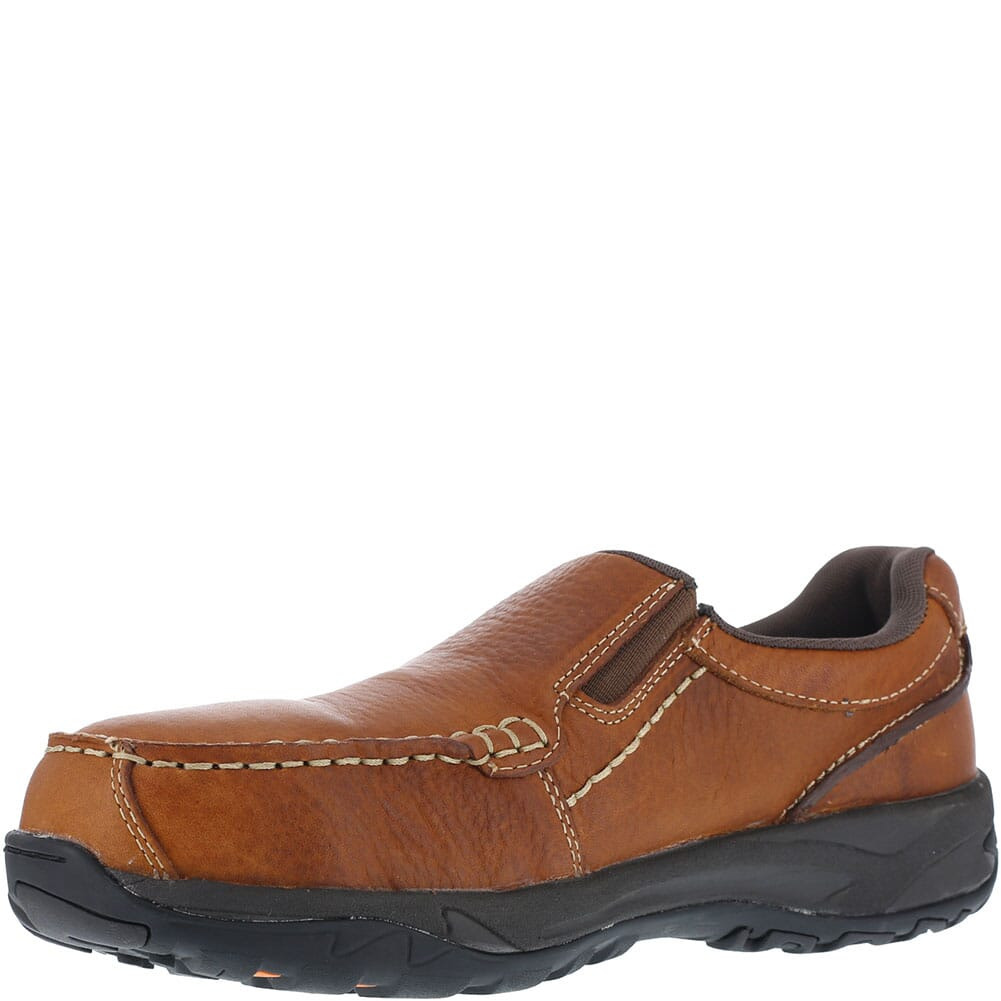 Rock Port Works Men's Extreme Light Safety Shoes - Brown
