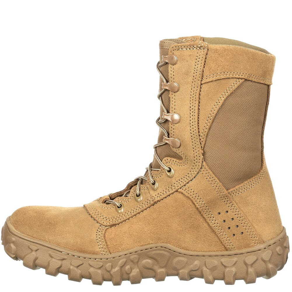 RKC089 Rocky Men's S2V EH Tactical Comp Toe Safety Boots - Coyote Brown
