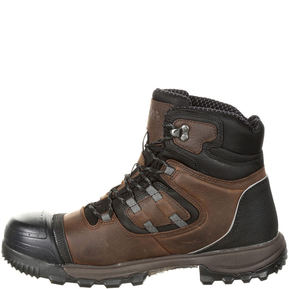 Rocky Men's XO-Toe WP Safety Boots - Brown