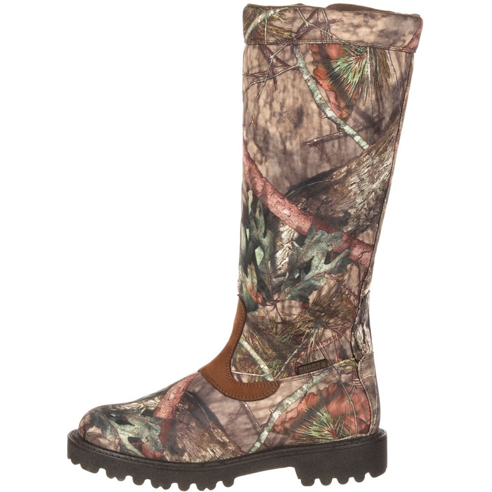 Rocky Men's Low Country WP Snake Boots - Mossy Oak