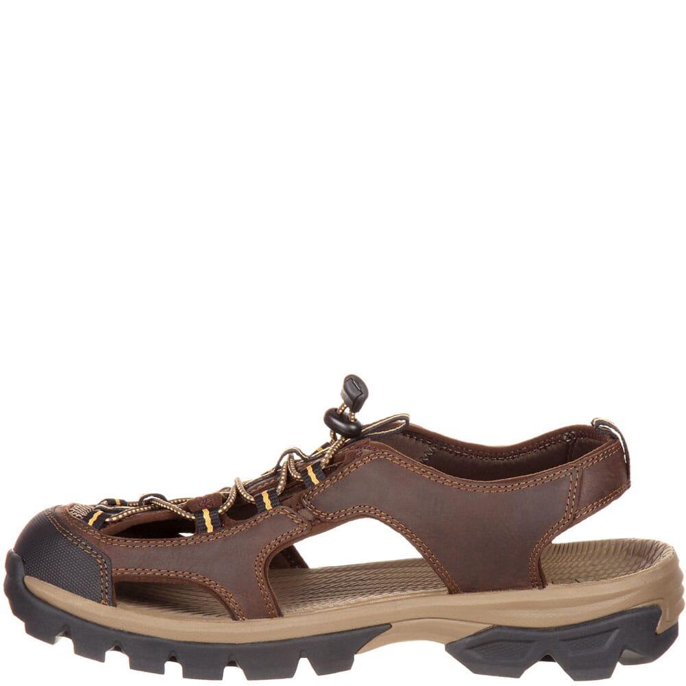 Rocky Men's Endeavor Point Sandals - Dark Brown