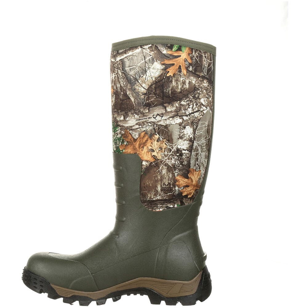 Rocky Men's Sport Pro Rubber Outdoor Boots - Realtree Edge