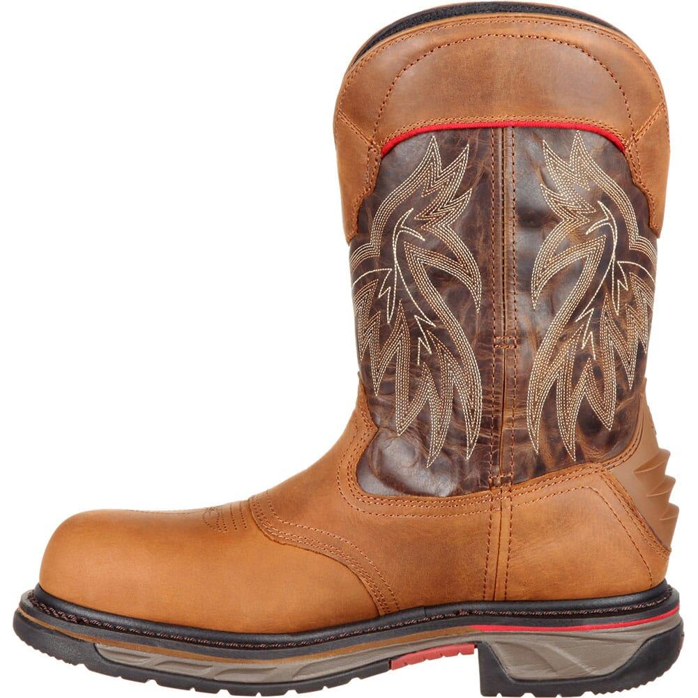 Rocky Men's Iron Skull WP Safety Boots - Dark Brown/Brown