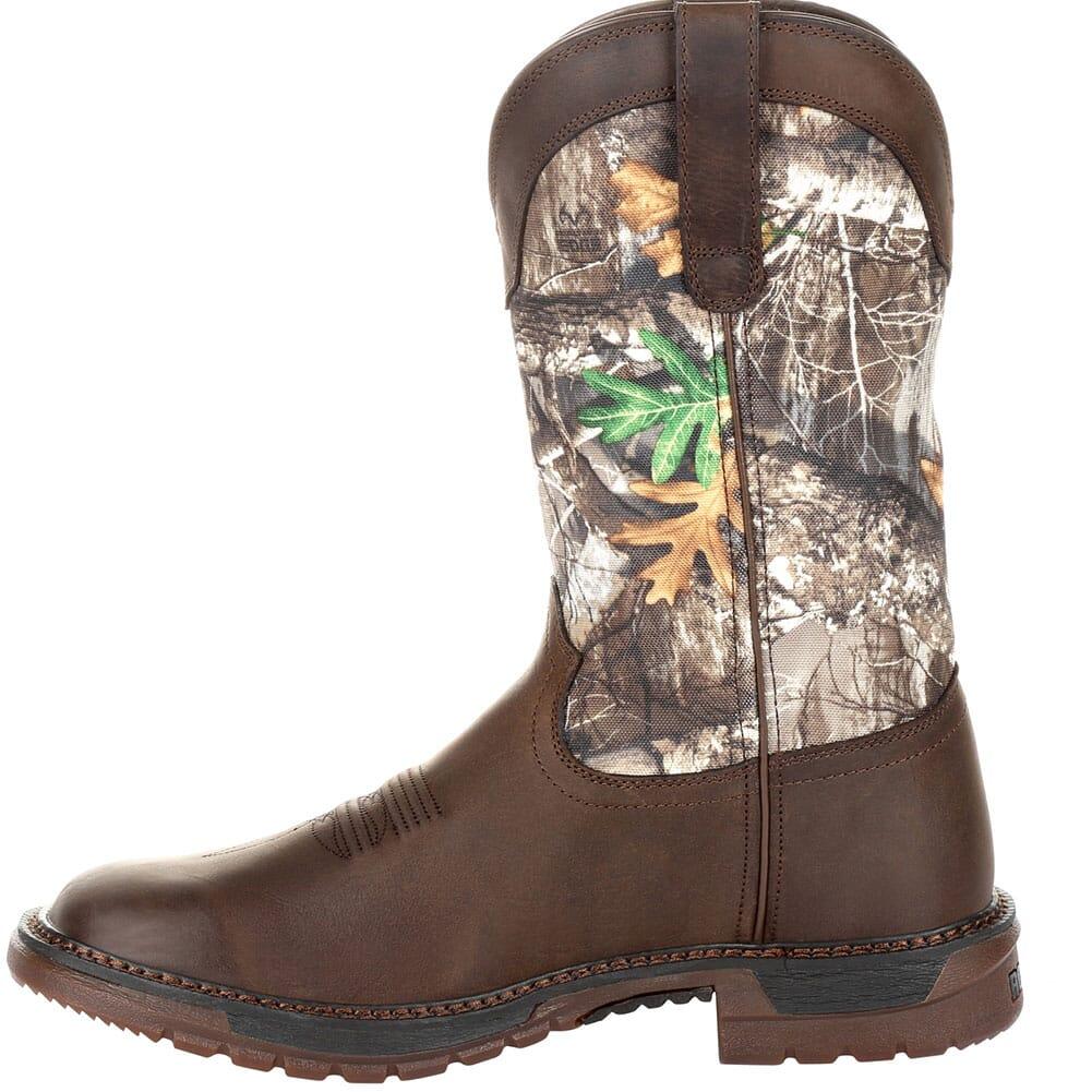 Rocky Original Ride Men's FLX WP Western Boots - Brown/Realtree Camo