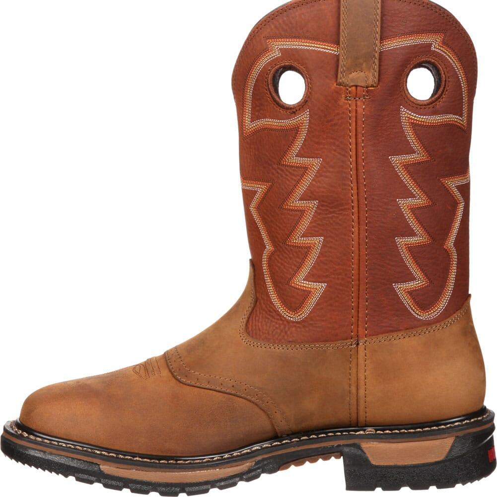 Rocky Men's Original Ride WP Western Boots - Tan/Ochre