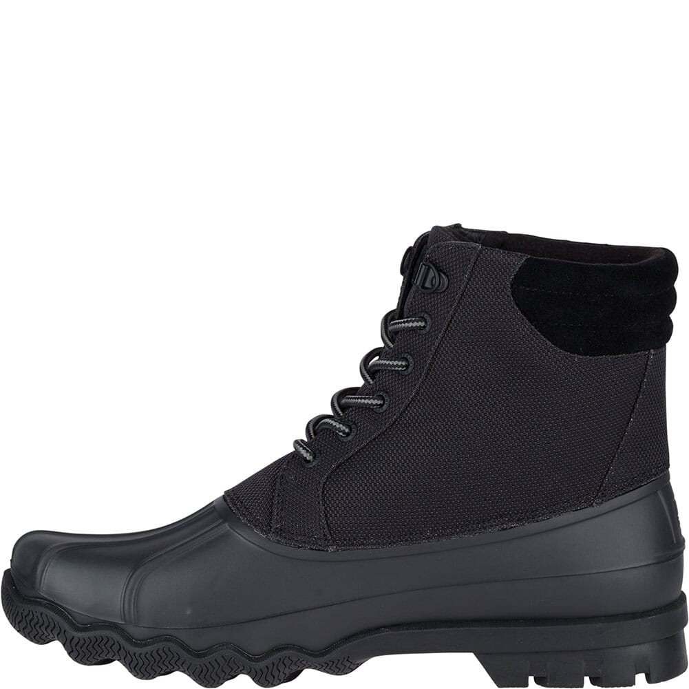 Sperry Men's Avenue Duck Boots - Black/Cordura