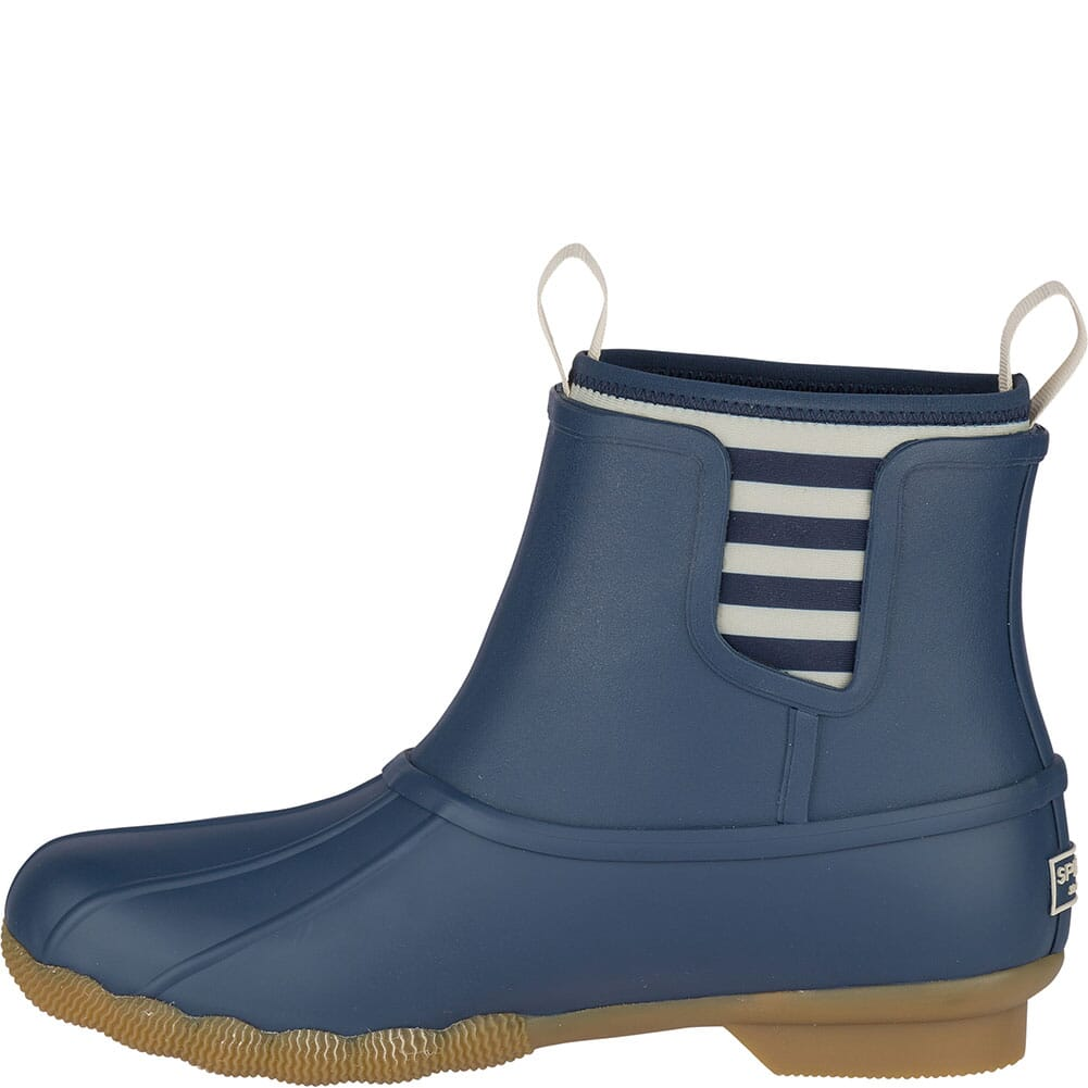 Sperry Women's Saltwater Rubber Chelsea Duck Boots - Navy