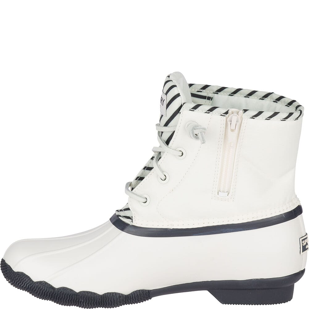 Sperry Women's Saltwater BIONIC Duck Boots - Off White