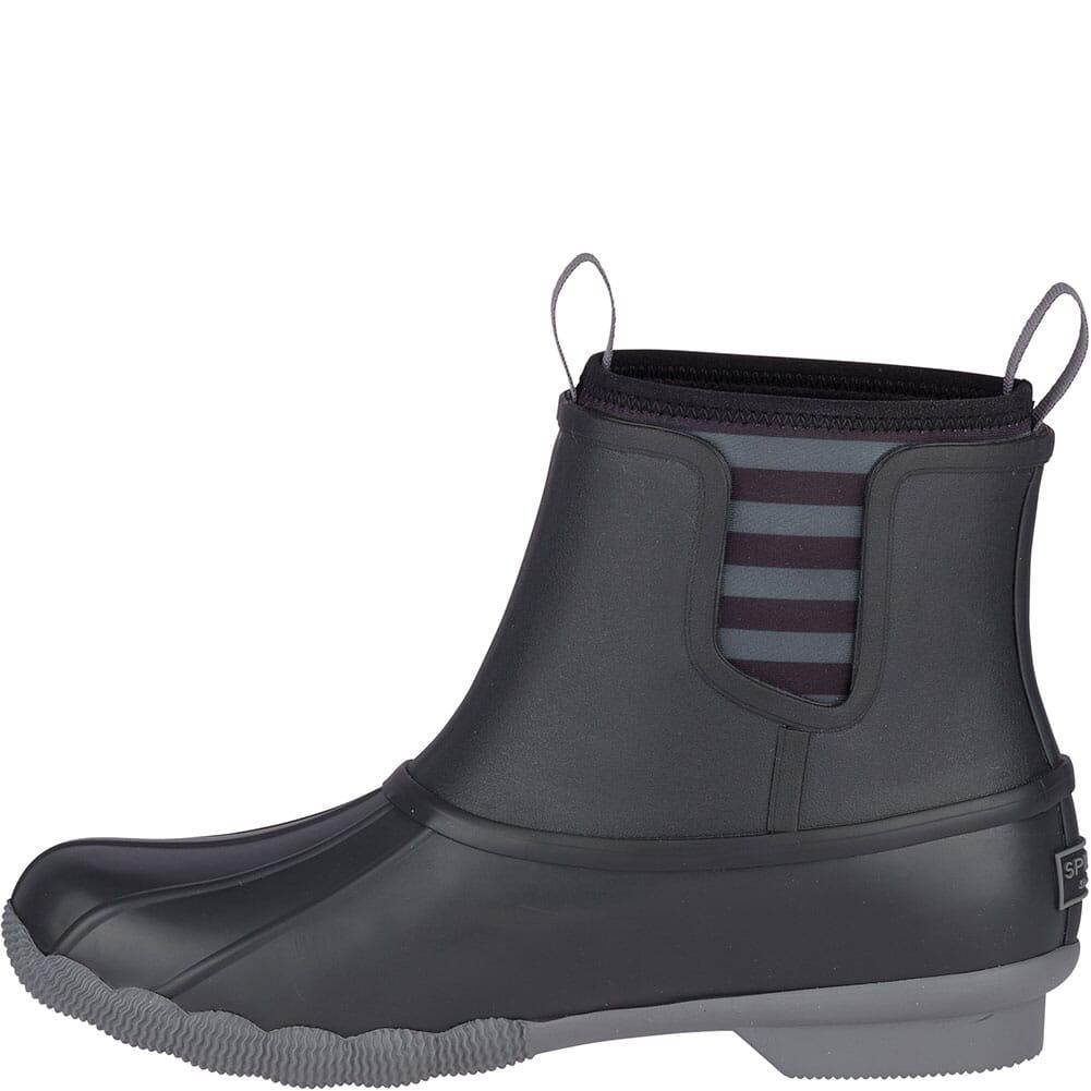 Sperry Women's Saltwater Rubber Chelsea Duck Boots - Black