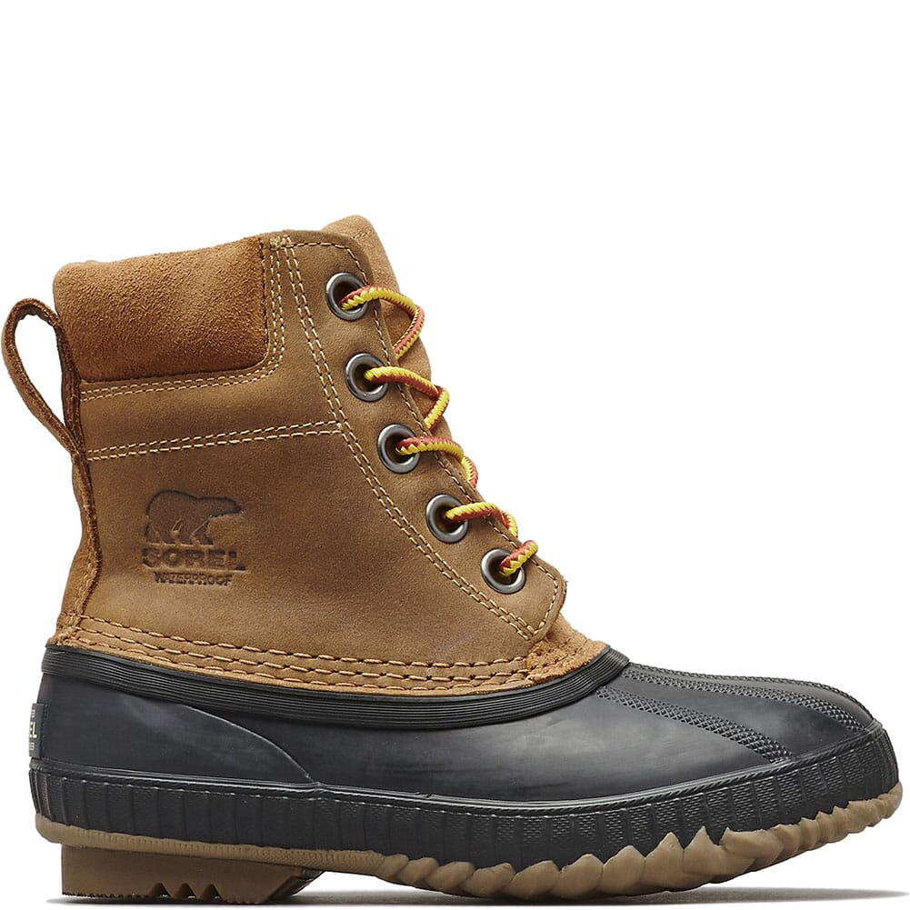 Sorel Kid's Cheyanne II Lace Pac Boots - Elk/Black