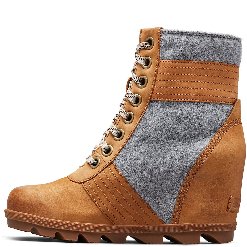 Sorel Women's Lexie Wedge Casual Boots - Ash Brown