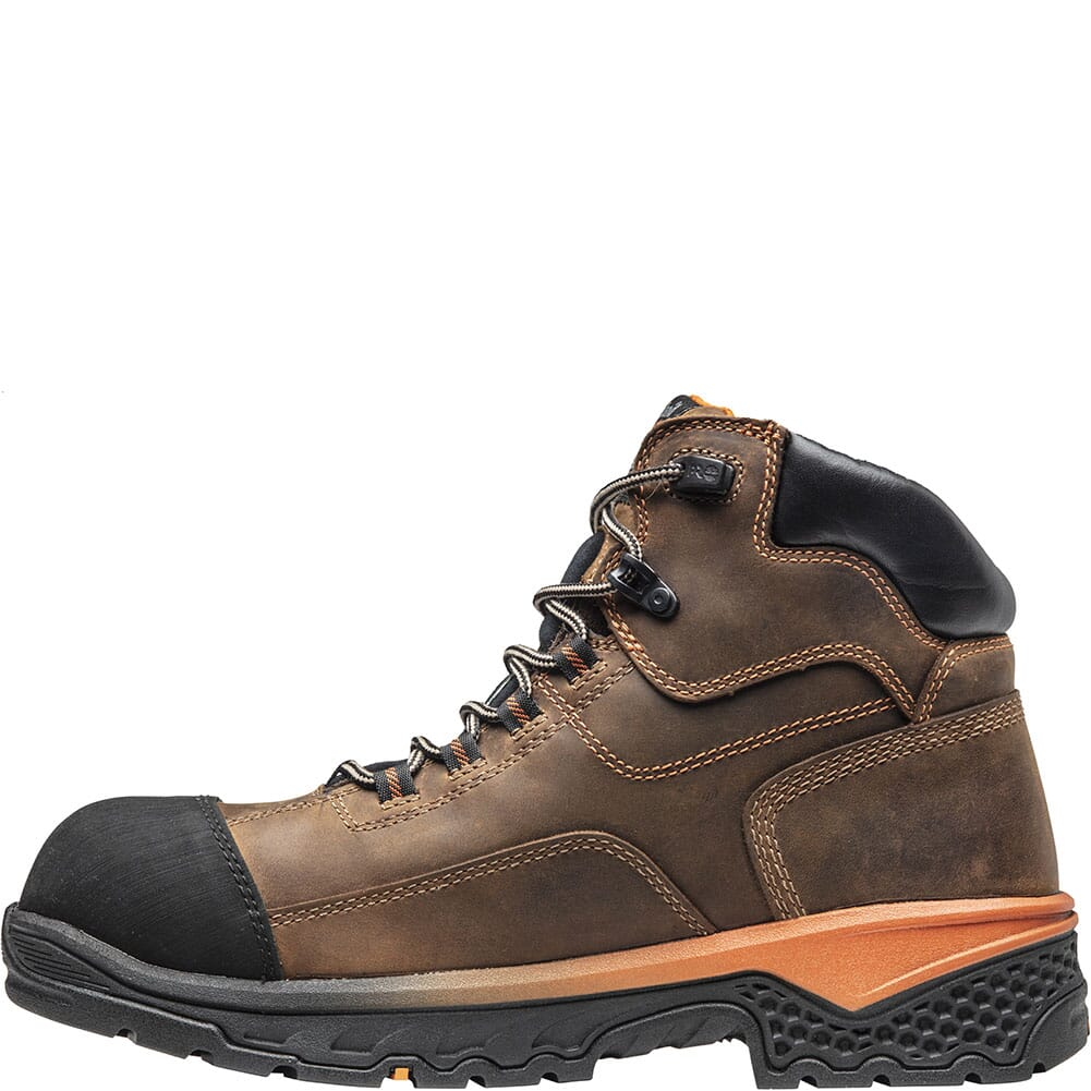 A1XK1214 Timberland Pro Men's Bosshog WP Safety Boots - Brown