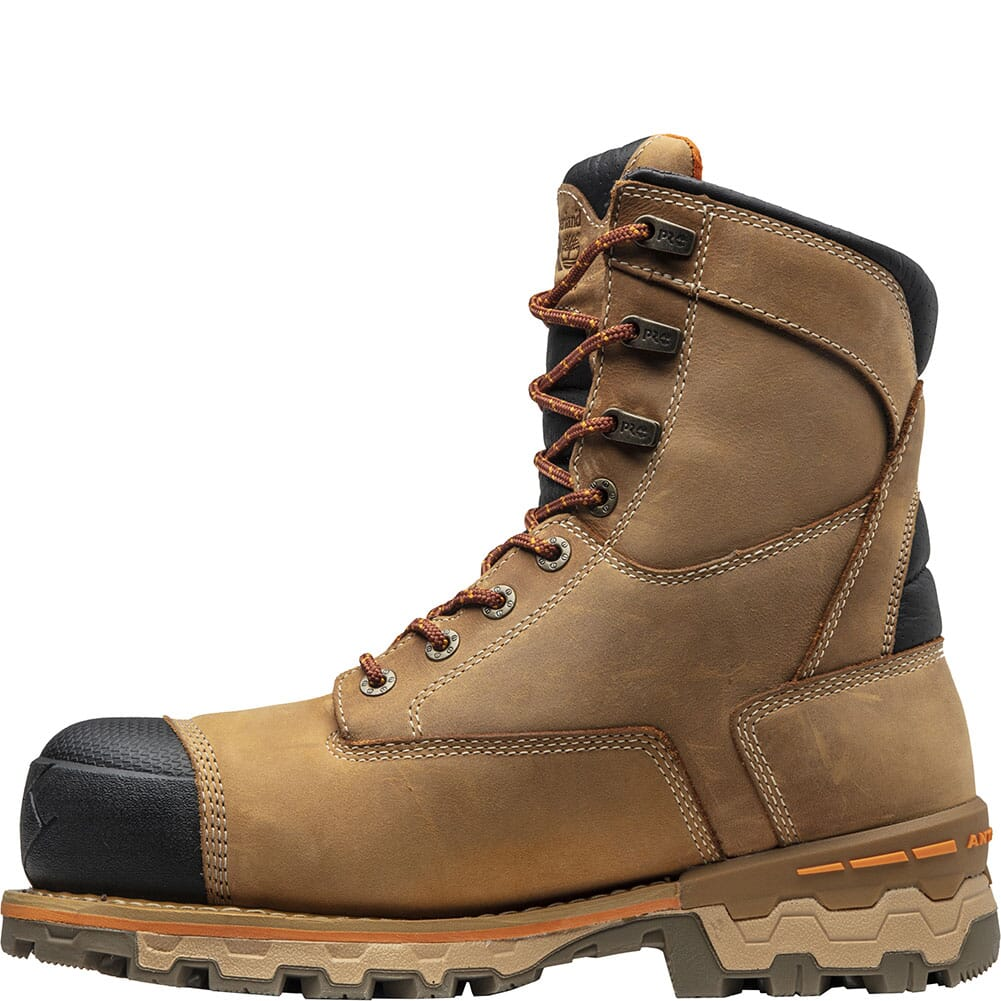 A1Z3G231 Timberland Pro Men's Boondock Safety Boots - Wheat Distressed