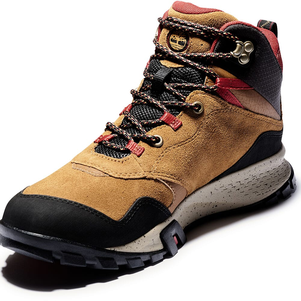 A23DVD51 Timberland Men's Garrison Trail WP Mid Hiking Boots - Brown