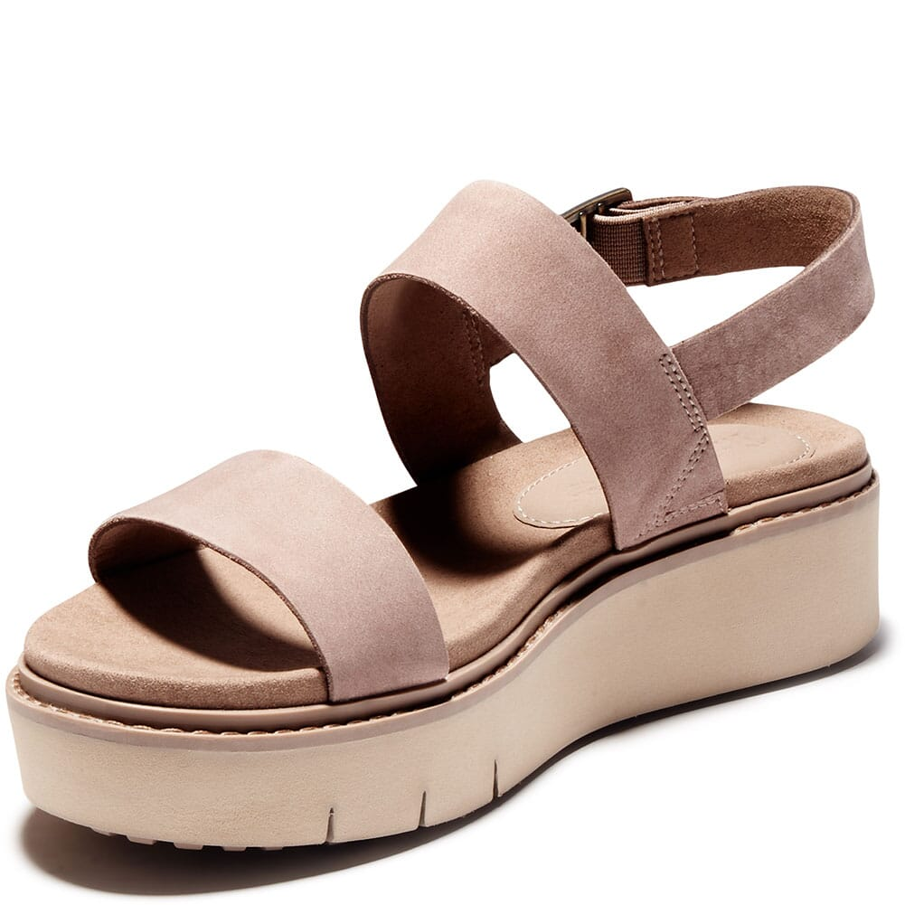 A274F929 Timberland Women's Safari Dawn 2 Band Sandals - Taupe